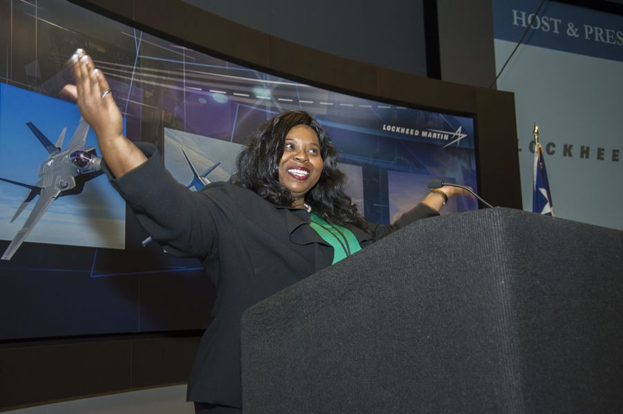 TAME Board Member Tamara Crawford was recently honored with Black Engineer of the Year Award. Crawford is a Lockheed Martin Aeronautics Advanced Technical Leadership Program Senior, currently assigned as Lead Systems Engineer for the F-22 Raptor overseeing shutdown execution. Crawford is a is an active mentor to girls ages 8-18 and played a critical role in overseeing TAME's 2015 State Math and Science Competition, for which Lockheed Martin Aeronautics was the Host and Presenting Sponsor.