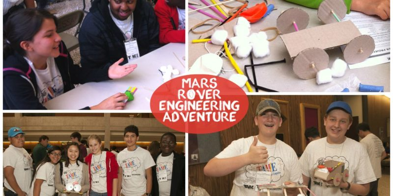TAME Engineering Adventure: Mars Rover State Challenge