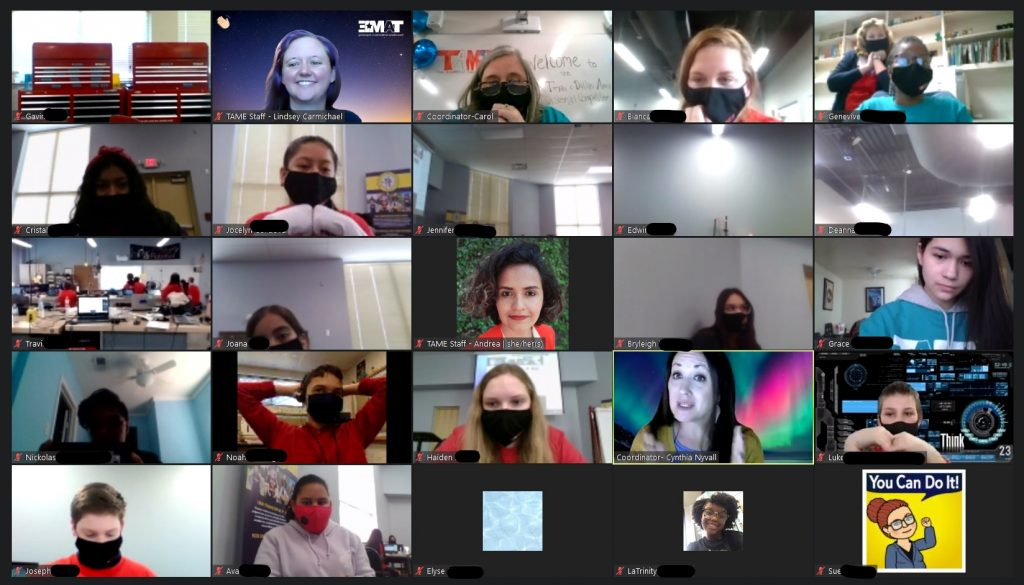 A screenshot of a Zoom call with 25 people visible.